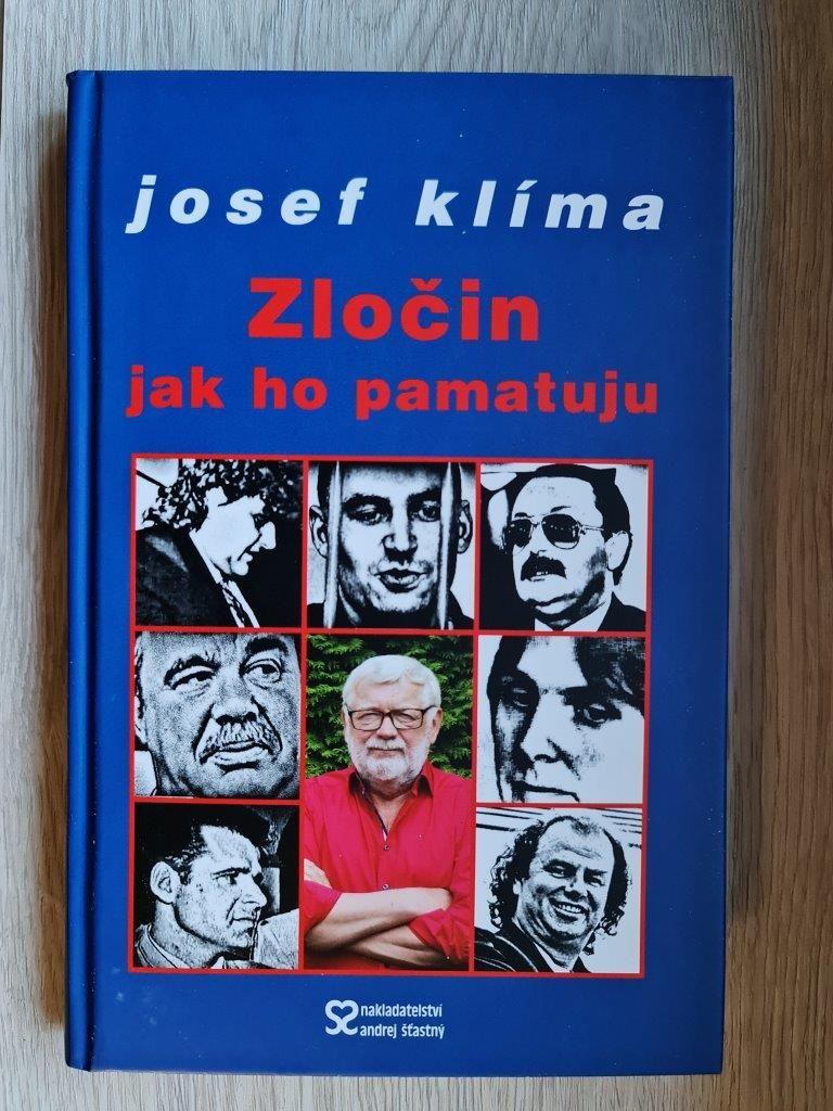 Zločin jak ho pamatuju - Josef Klíma nakladatelství Andrej Štastný