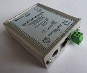 SP-ETHPOE100-IS (injektor / spliter) Přepěťová ochrana s POE  Ethernet (10/100) v kovovém boxu