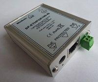 SP-ETHPOE100-IS (injektor / spliter) Přepěťová ochrana s POE Ethernet (10/100) v kovovém boxu ELIATEL