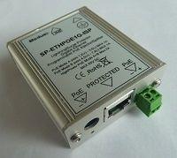 SP-ETHPOE1G-IS (injektor / spliter) Přepěťová ochrana s POE Gigabit Ethernet (10/100/1000) v kovovém boxu ELIATEL
