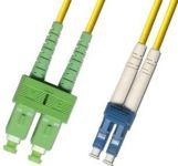 ADEX LC-SC/APC Optický patch cord 09/125 5m duplex