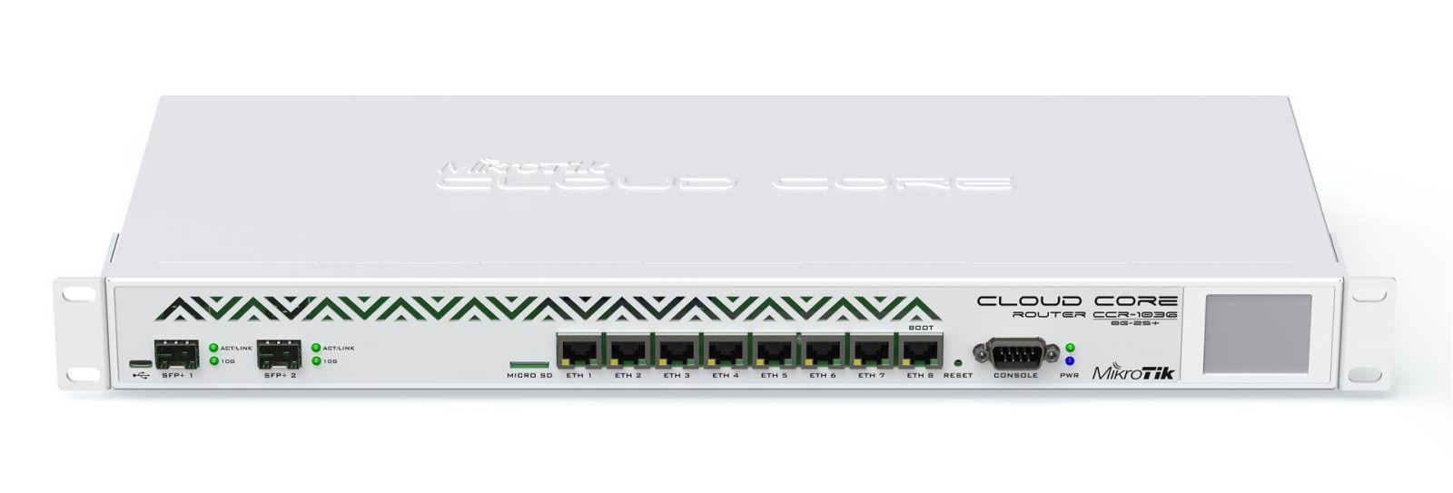 MikroTik CCR1036-8G-2S+EM ROS L6,10G SFP+