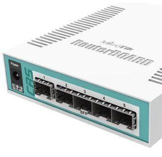 MikroTik RouterBOARD CRS106-1C-5S, 5x SFP + 1x Combo, ROS L5