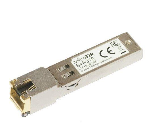 MikroTik SFP modul S+RJ10, 10/100/1000M/2.5G/5G/10G